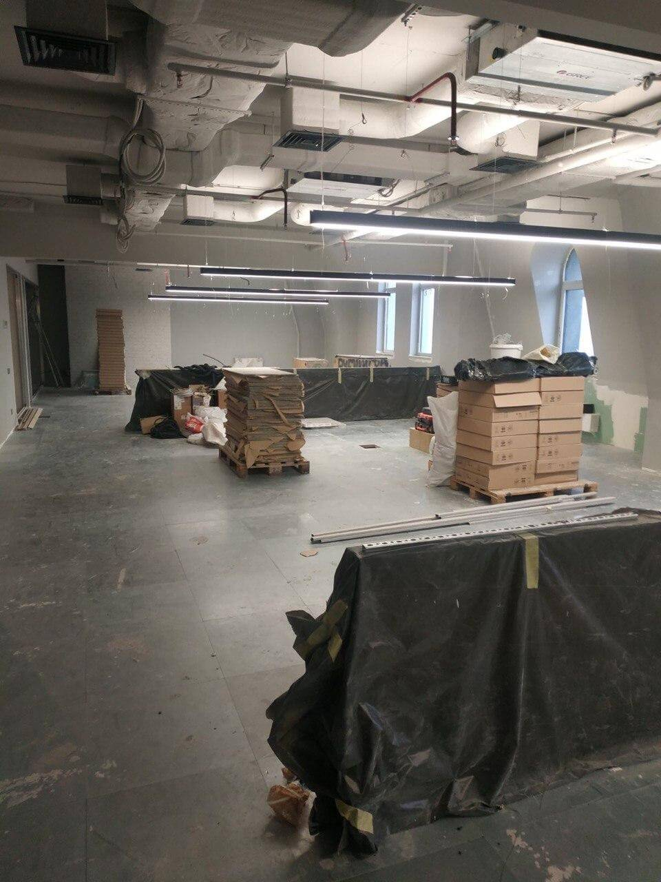 980 square meters in 90 days